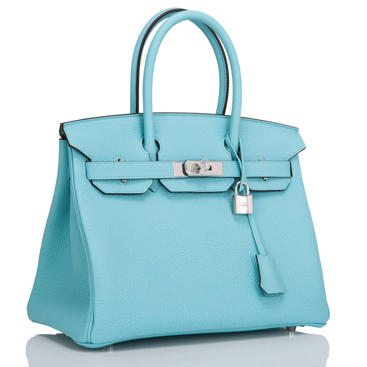 sac hermes birkin - Hermes Blue Atoll Togo Birkin 30cm Palladium Hardware For Sale at ...