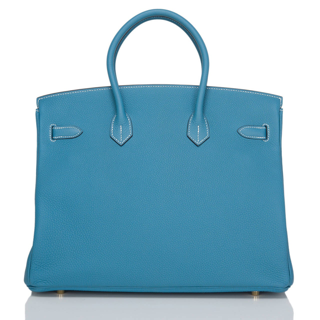 hermes knockoffs - Hermes Blue Jean Togo Birkin 35cm Gold Hardware at 1stdibs