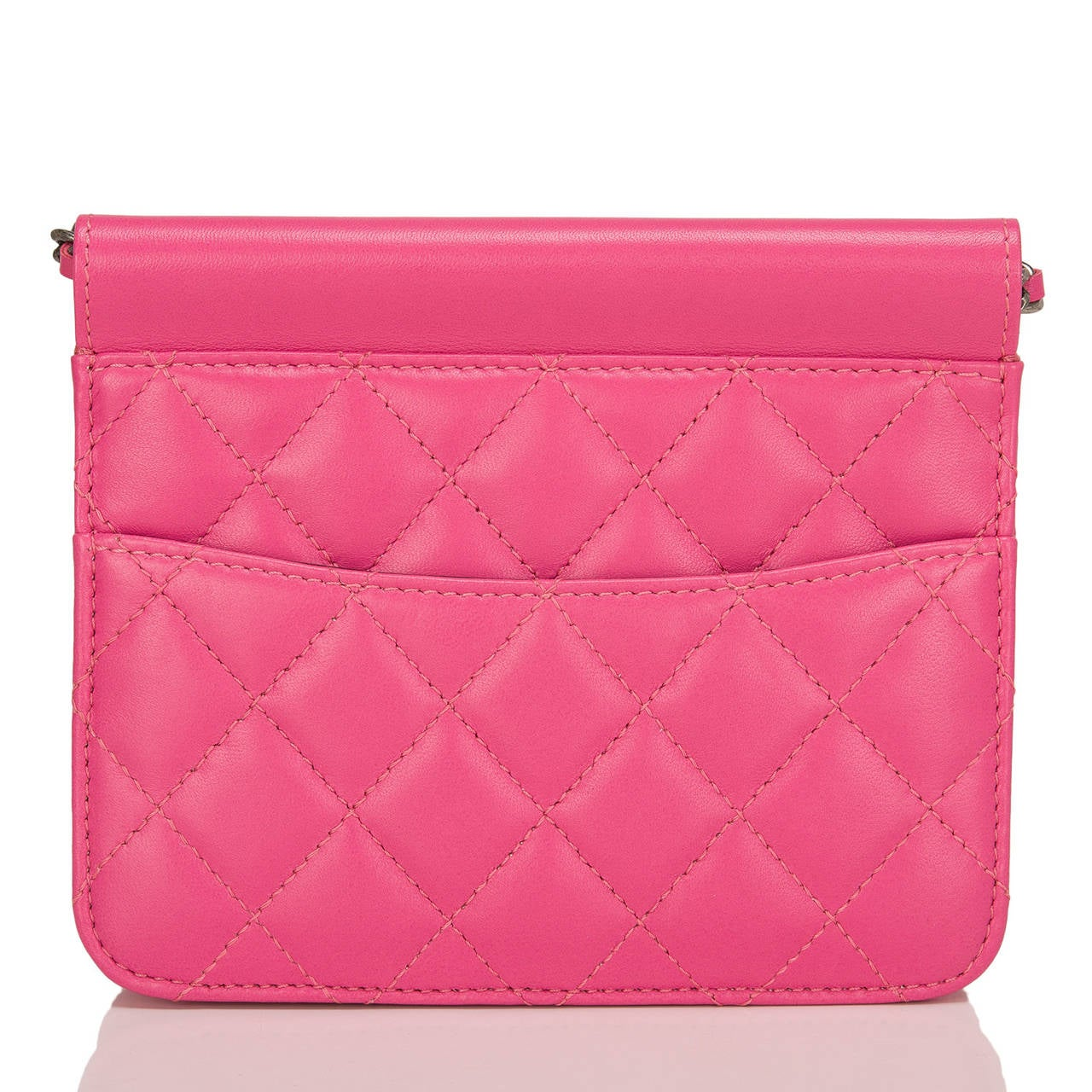 Chanel Pink Crossing Times Mini Flap Bag In New Never_worn Condition For Sale In New York, NY