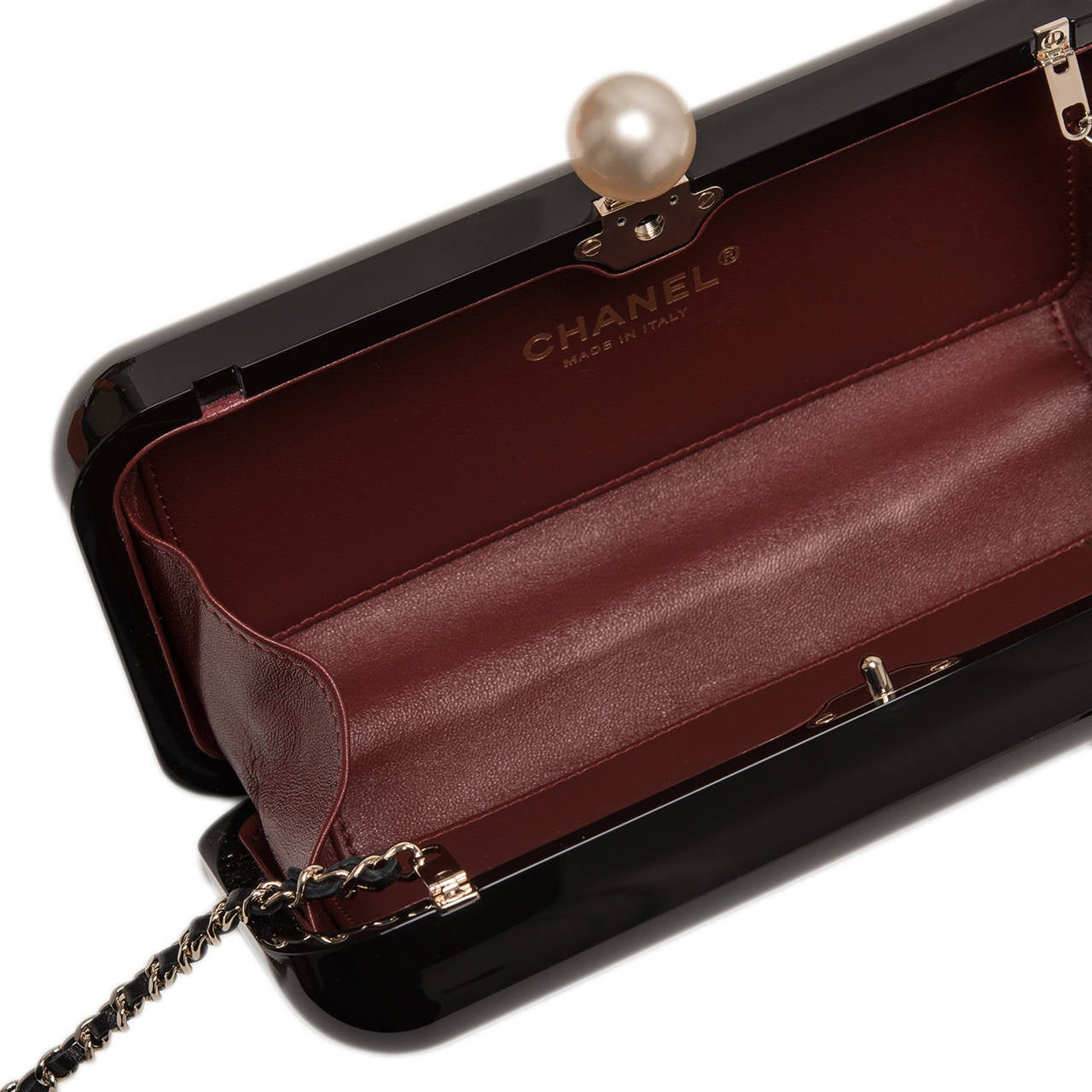 """Chanel """"Votez Coco"""" Evening in the Street Clutch For Sale 1"""