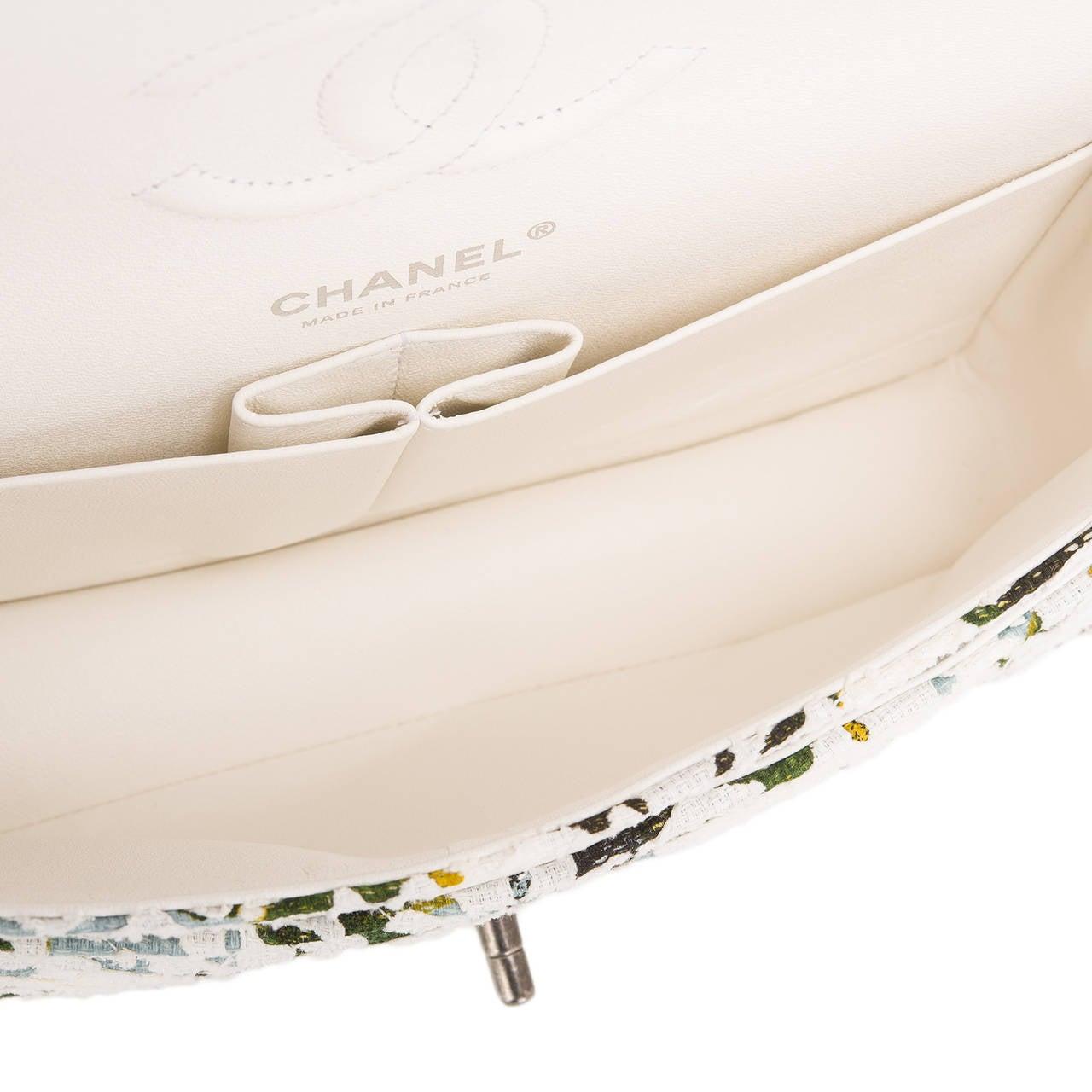 Chanel Floral Medium Classic Double Flap Bag For Sale 1