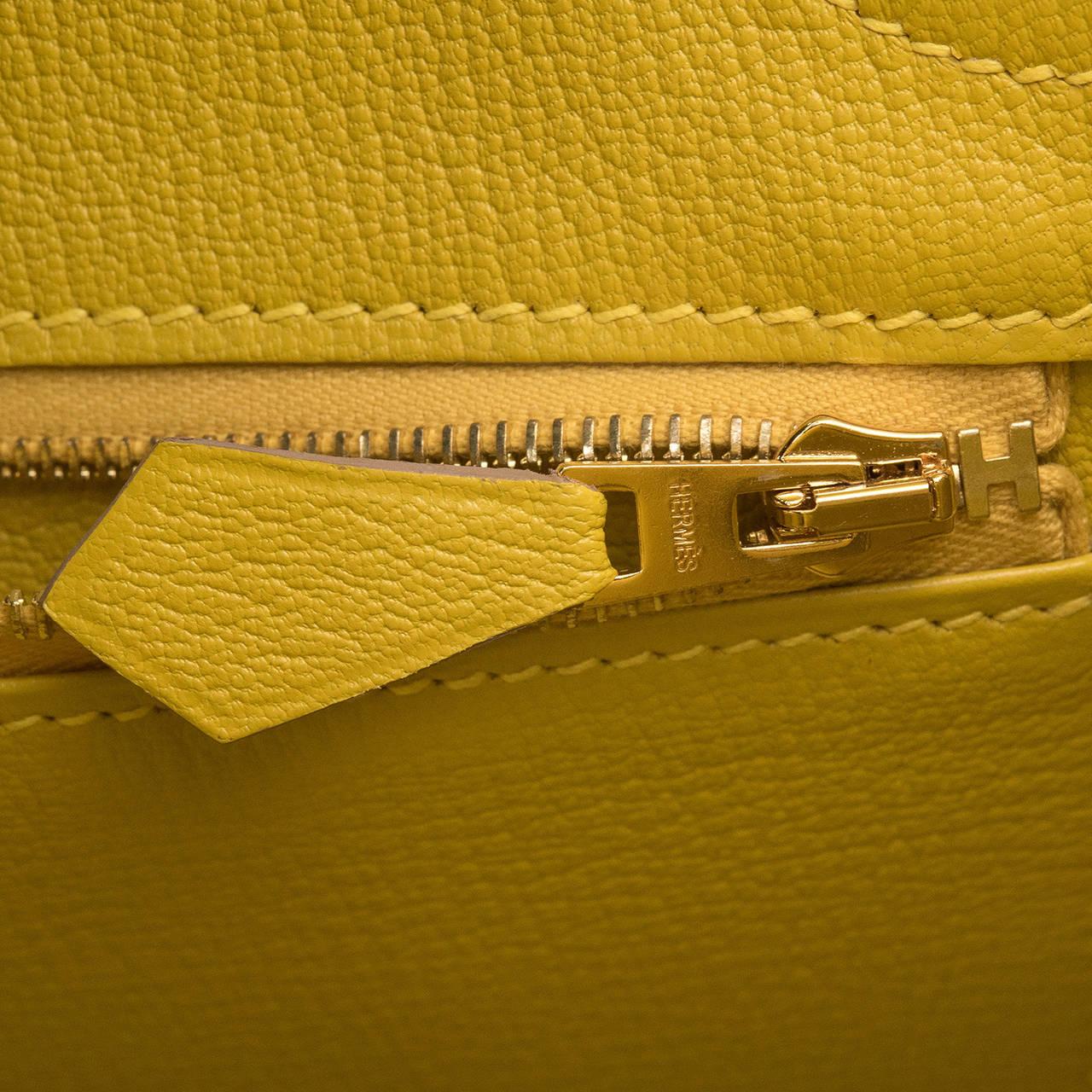 hermes birkin bag 30 bi-color so soufre cumin togo gold hardware