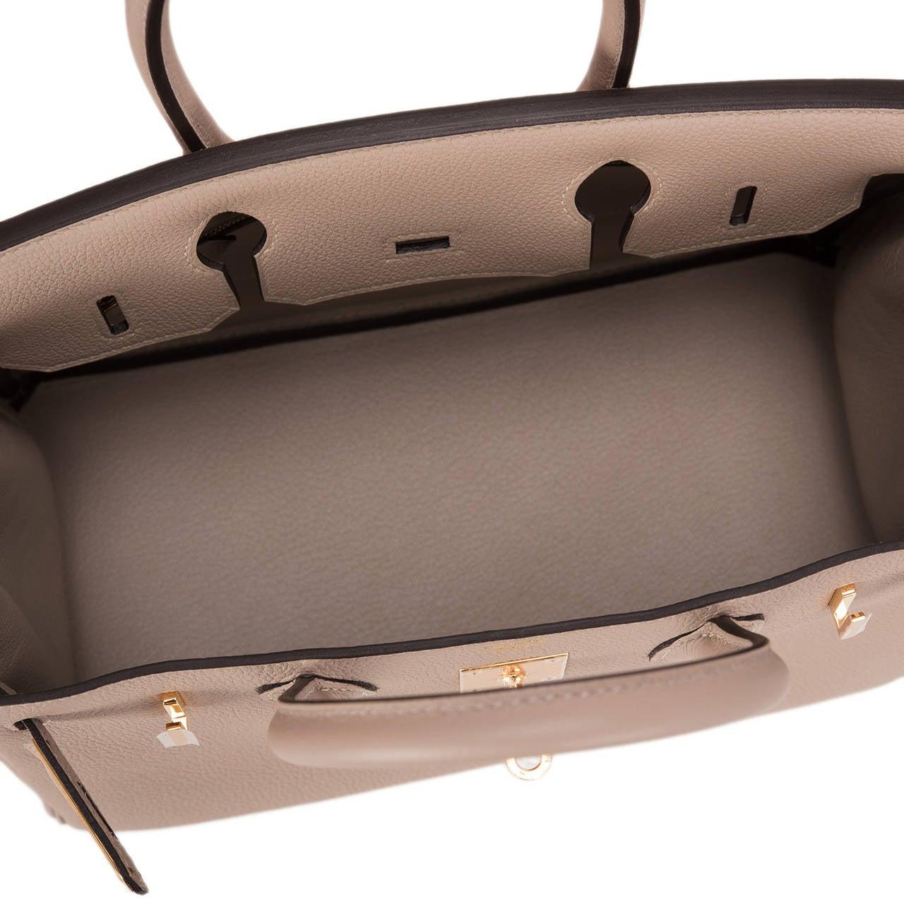 kelly purses - hermes alezan togo birkin 30cm gold hardware