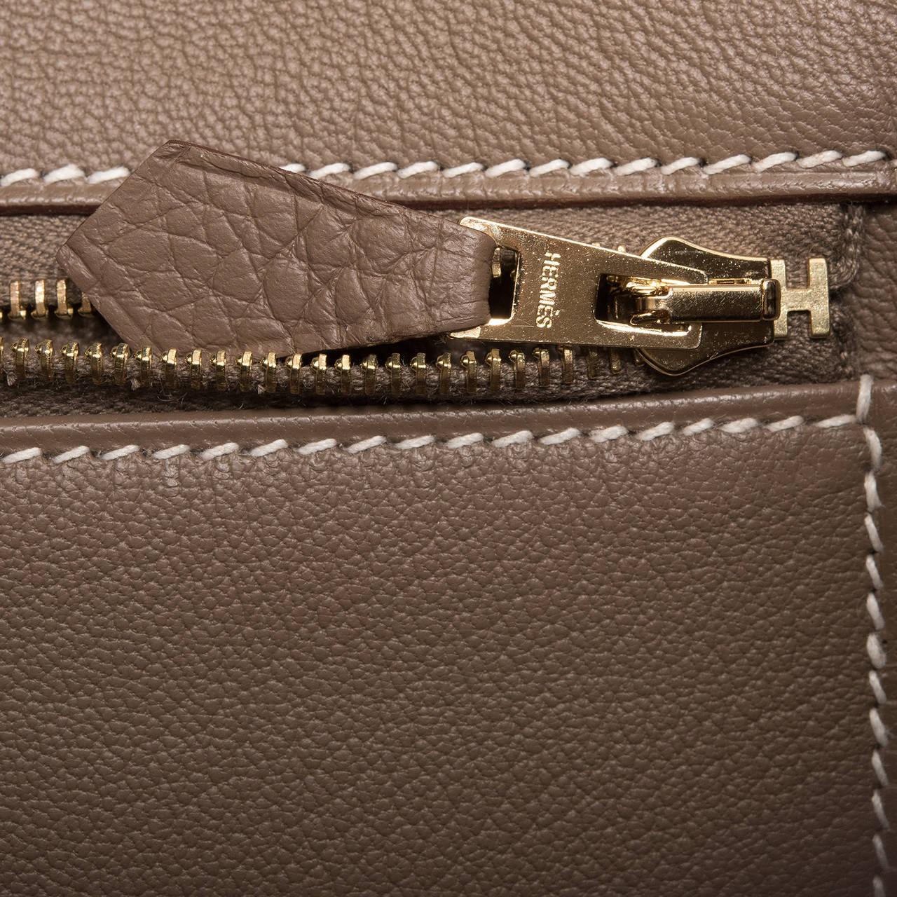 hermes handbags for sale - Hermes Etoupe Togo Birkin 35cm Gold Hardware For Sale at 1stdibs