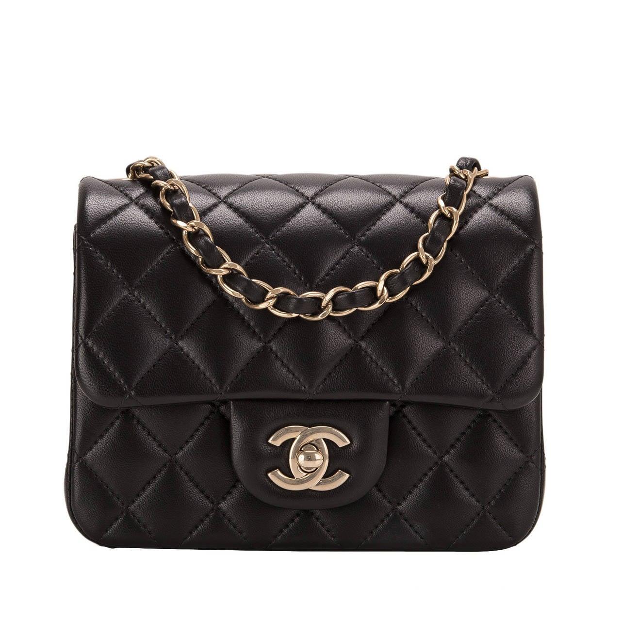 e0d649619e6 Chanel Purse Classic Black
