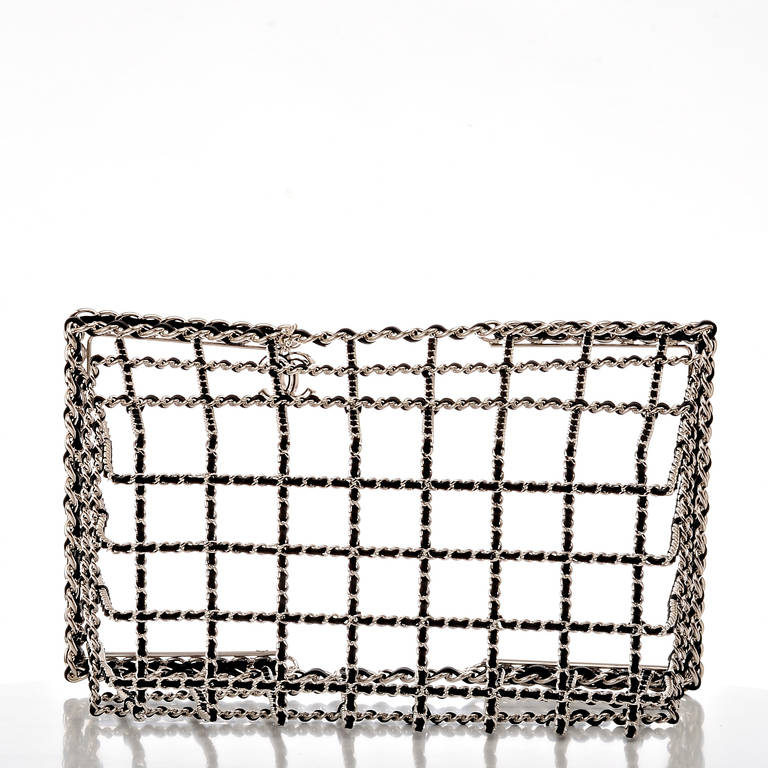 Women's Chanel Limited Edition Shopping Cart Basket For Sale