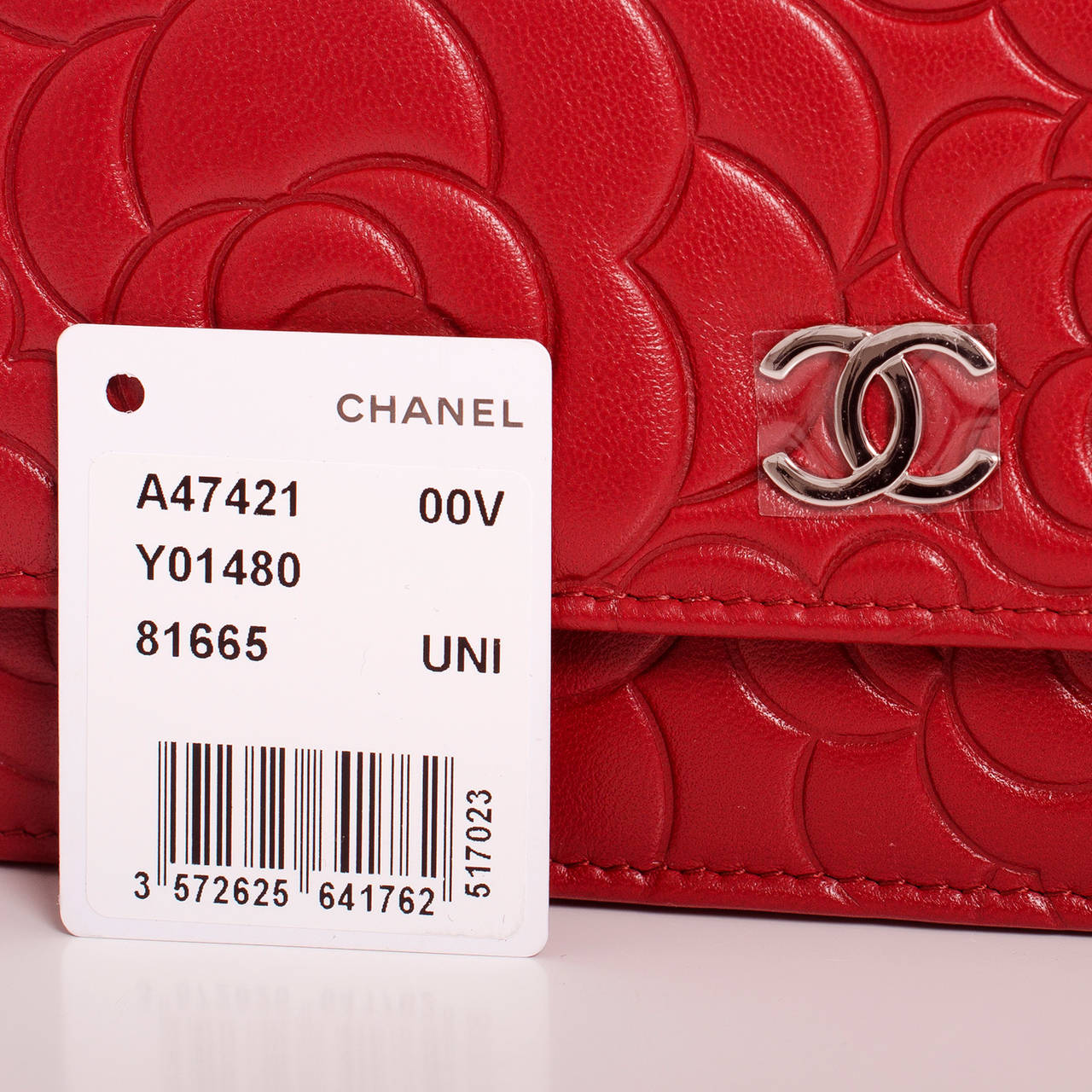 Chanel Red Lambskin