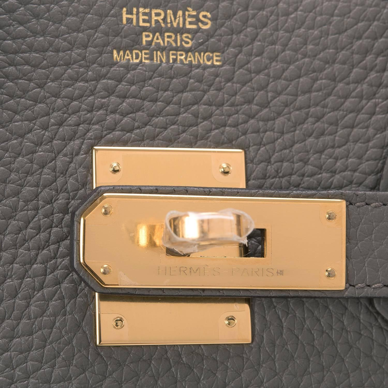 hermes birkin bag 35cm gris tourterelle togo palladium hardware