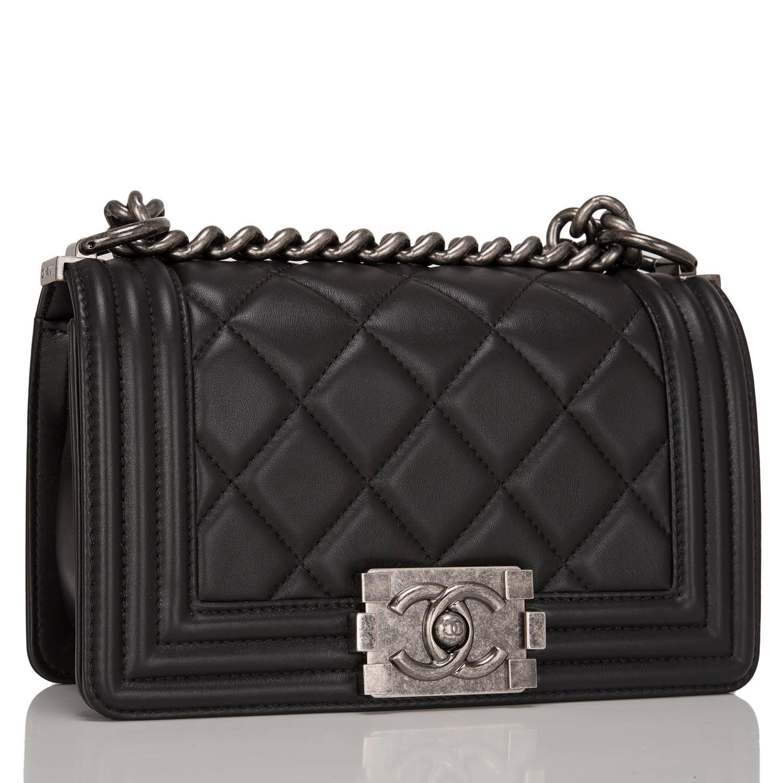 84886de69683 Chanel Boy Bag Black Lambskin | Stanford Center for Opportunity ...