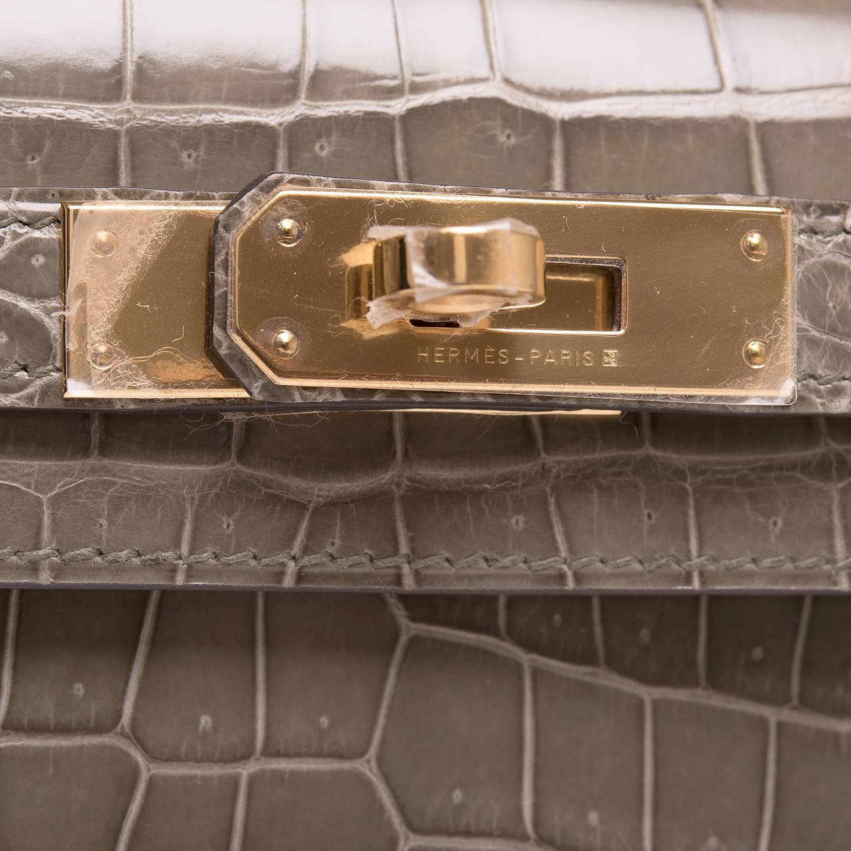 hermes constance price - Hermes Etoupe Clemence Birkin 30cm Gold Hardware