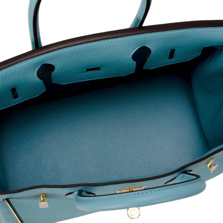 5cc4764d9ca hermes blue nuit togo birkin 35cm gold hardware