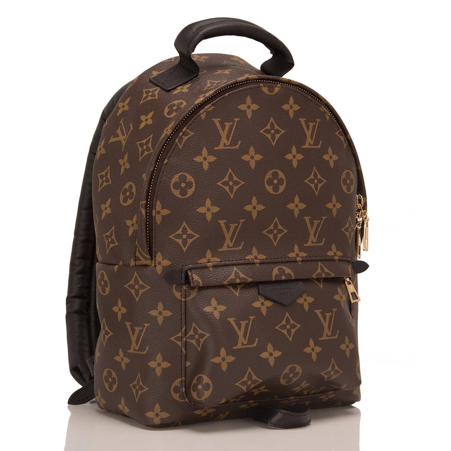 louis vuitton palm springs backpack pm at 1stdibs. Black Bedroom Furniture Sets. Home Design Ideas