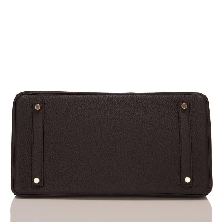 Hermes Black Togo Birkin 35cm Gold Hardware For Sale 1