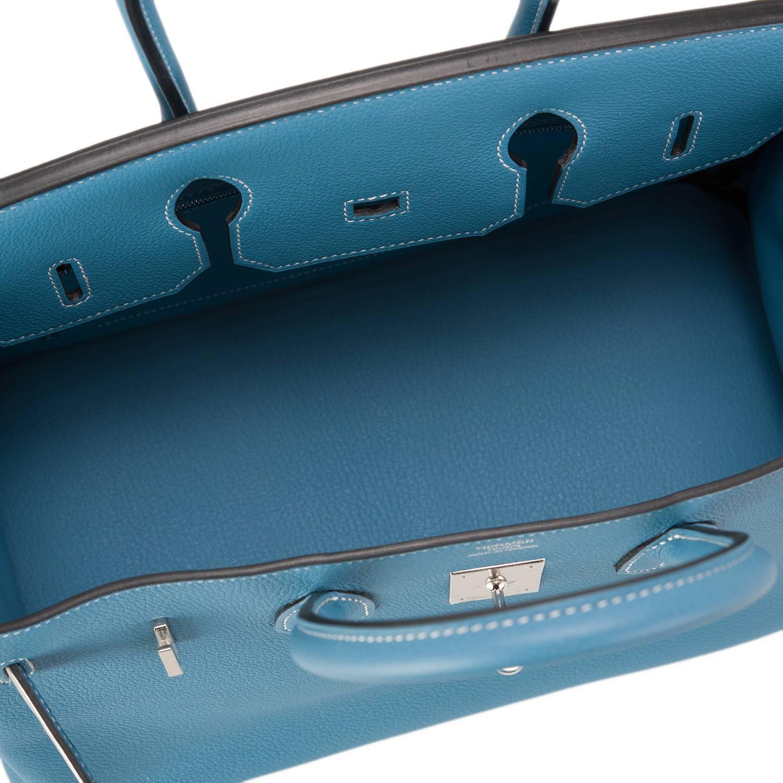 bfd51787e97 hermes blue jean togo birkin 35cm gold hardware