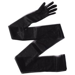 Lorry Newhouse Black 6 Feet Long Mesh Gloves
