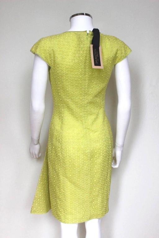New Giambattista Valli Lime Lace Dress IT 40 UK 8  7