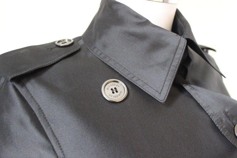 New DAVID KOMA Leather Wool Fur Woven Detail Coat UK 10   7