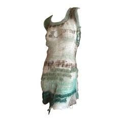 Rodarte Hand Knit Cobweb Dress 2007