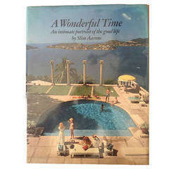 A Wonderful Time Slim Aarons 1st Ed