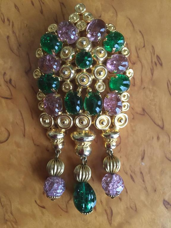 Christian Dior Brooch From Grosse Germany For Sale At 1stdibs