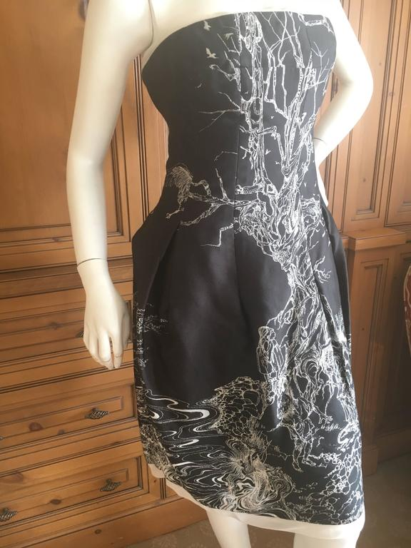 Alexander McQueen Girl Who Lived In a Tree Dress New Fall 2008 For Sale 1