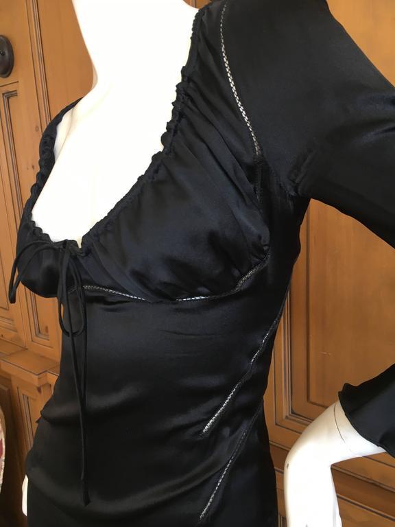 Alexander McQueen Fall 2002 Supercalifrgilistic Collection Little Black Dress 3