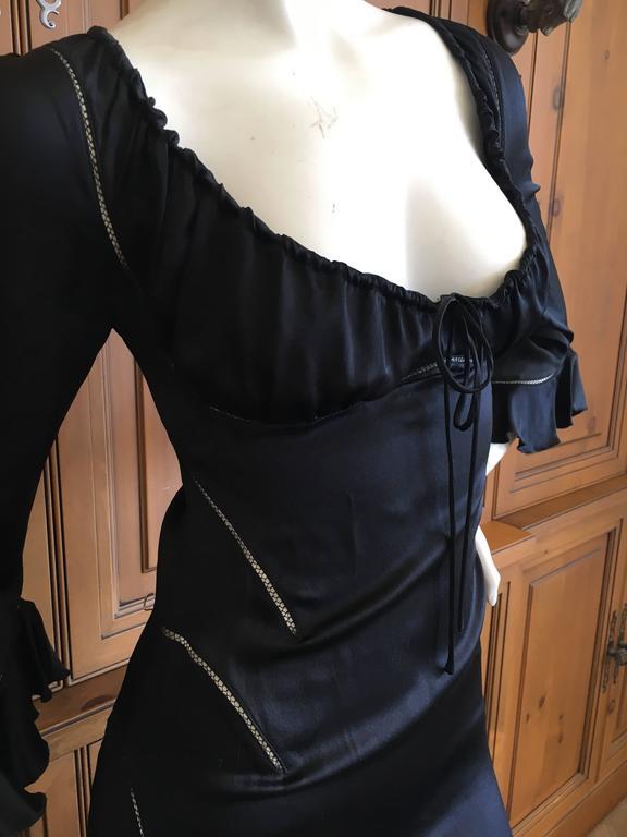 Alexander McQueen Fall 2002 Supercalifrgilistic Collection Little Black Dress 5