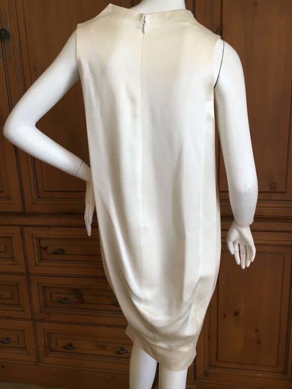 """Alexander McQueen Silk Sleeveless """"Smoke"""" Dress Spring 2009 2"""