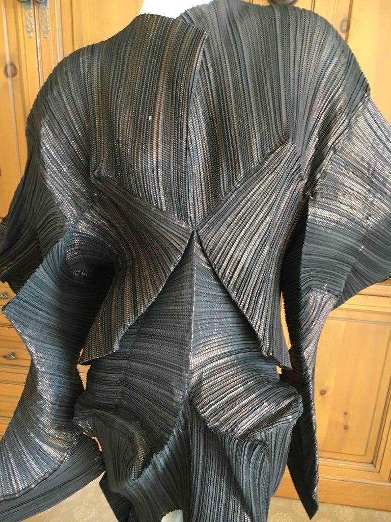 Women's Issey Miyake Important Sculptural Black Vintage Dress For Sale