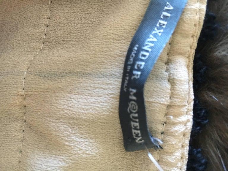 Alexander McQueen Rare Zip Apart Transformer Dress with All Locks & Keys For Sale 3