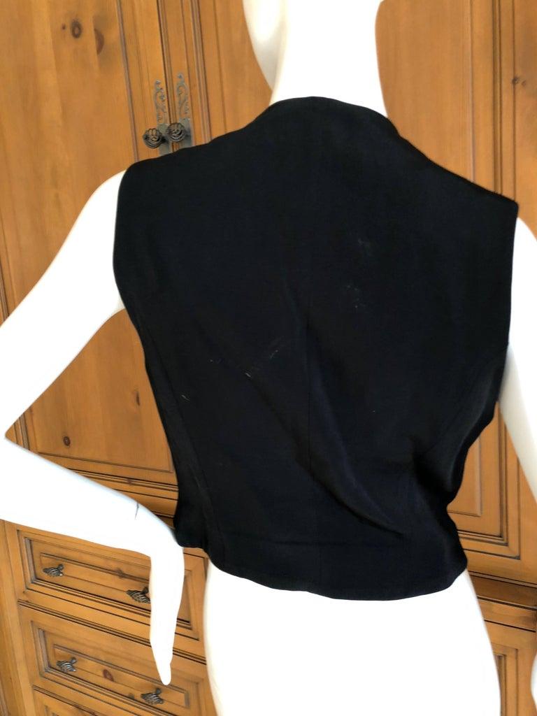 Rifat Ozbek Vintage  Embellished Vest For Sale 2