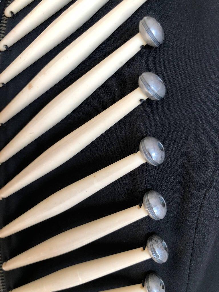 Rifat Ozbek Vintage  Embellished Vest For Sale 1
