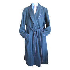 Turnbull & Asser Men's Cashmere Dressing Gown  Robe XL