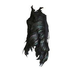 Ann Demeulemeester Dramatic Feather Vest