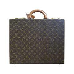Louis Vuitton 1970's Hard Sided Briefcase  Attache Case