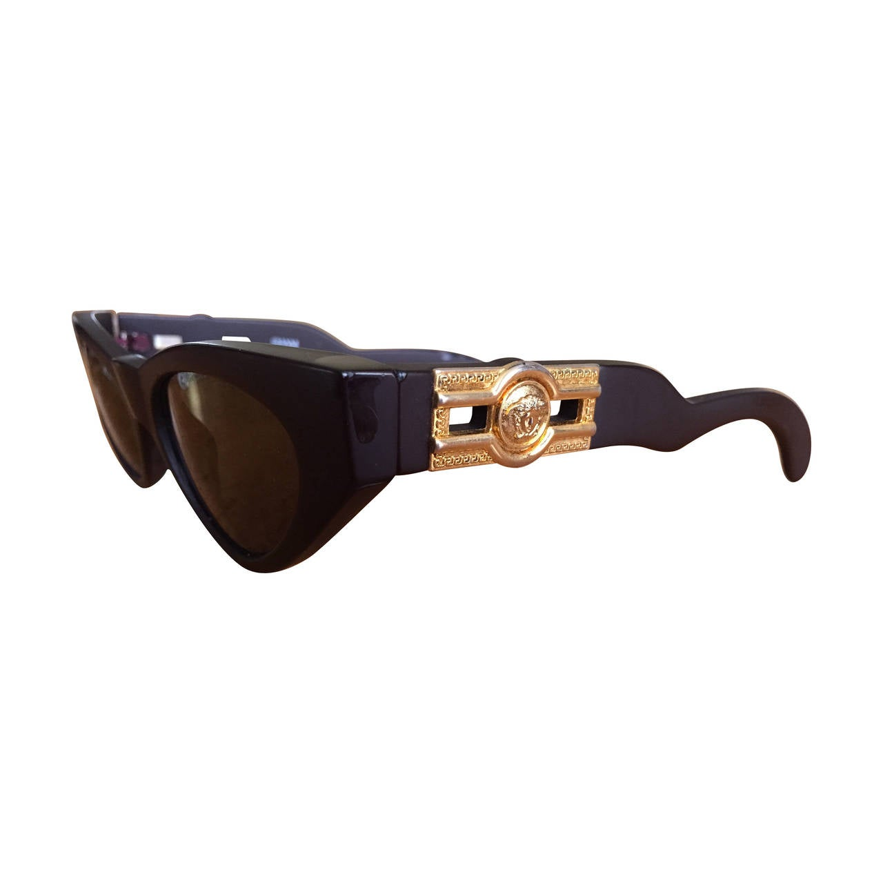 Versace Medusa Sunglasses  vintage gianni versace medusa head cat s eye sunglasses for