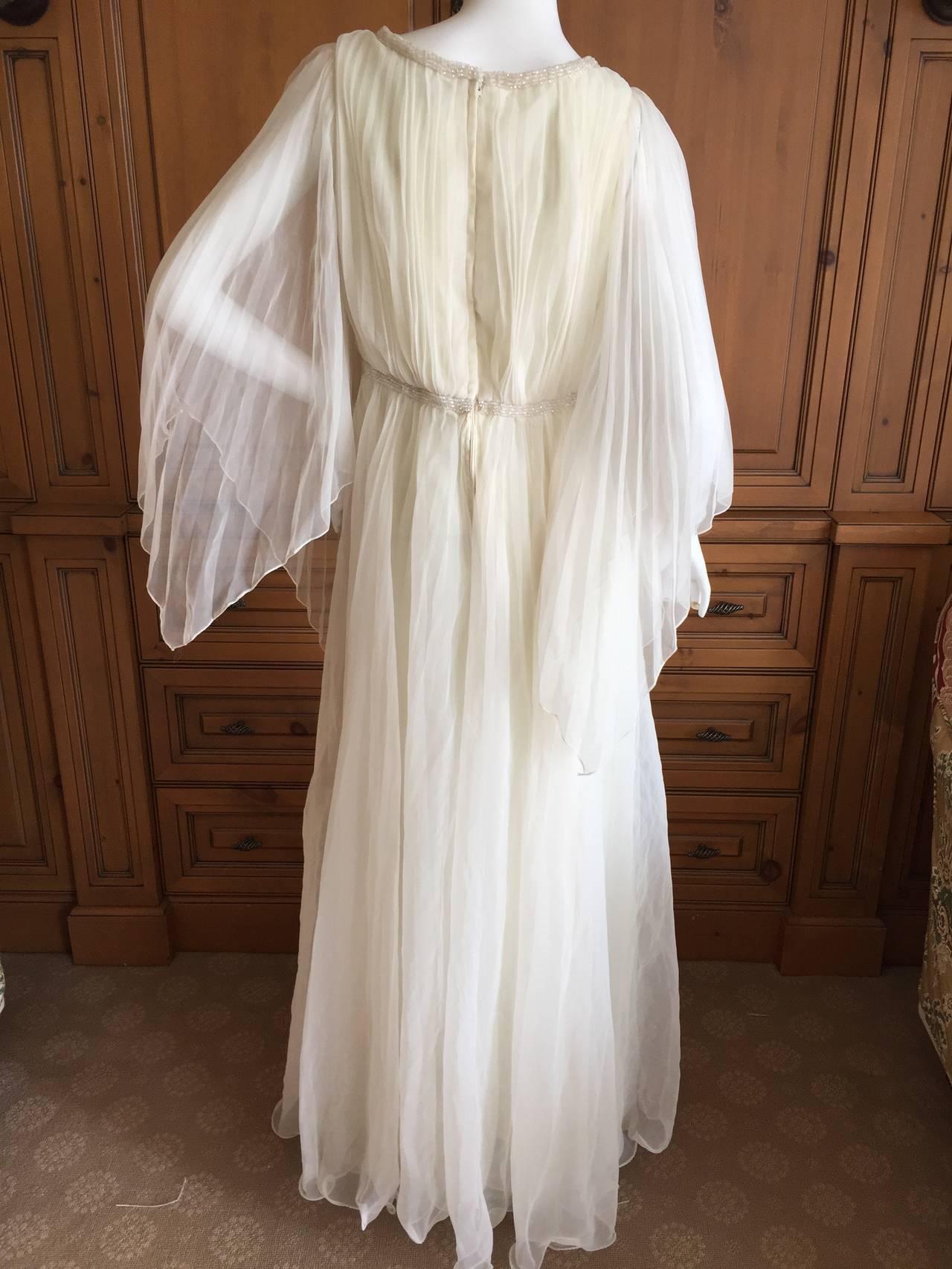 Jean Louis Romantic Ivory Beaded Dress 9