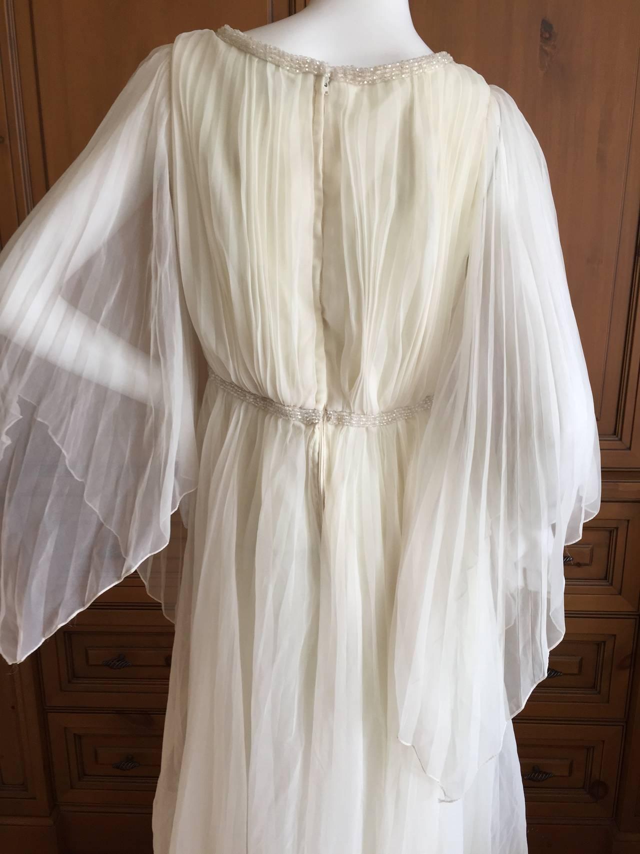 Jean Louis Romantic Ivory Beaded Dress 10