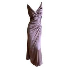 Sophie Sitbon Paris Mauve Silk Dress