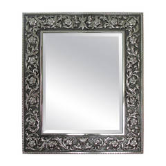 """Buccellati Large """"Medici"""" Sterling Silver Picture Frame  New"""