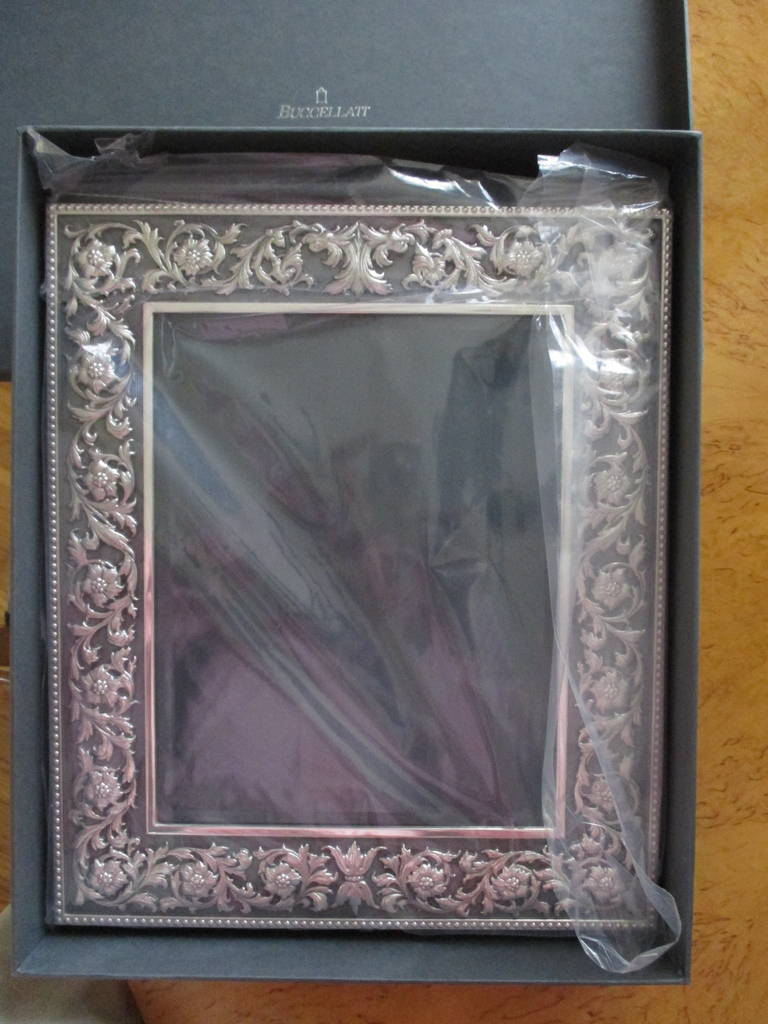 Buccellati Large Quot Medici Quot Sterling Silver Picture Frame