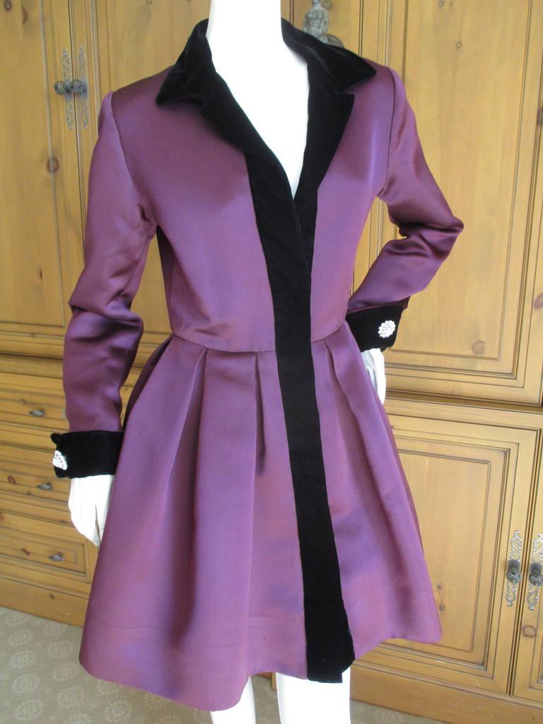 Oscar de la Renta Vintage Dress with Jeweled Belt 9