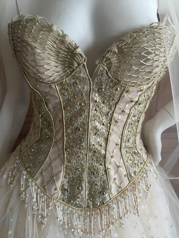 Bob Mackie One of a Kind Ballerina (Wedding) Dress 3