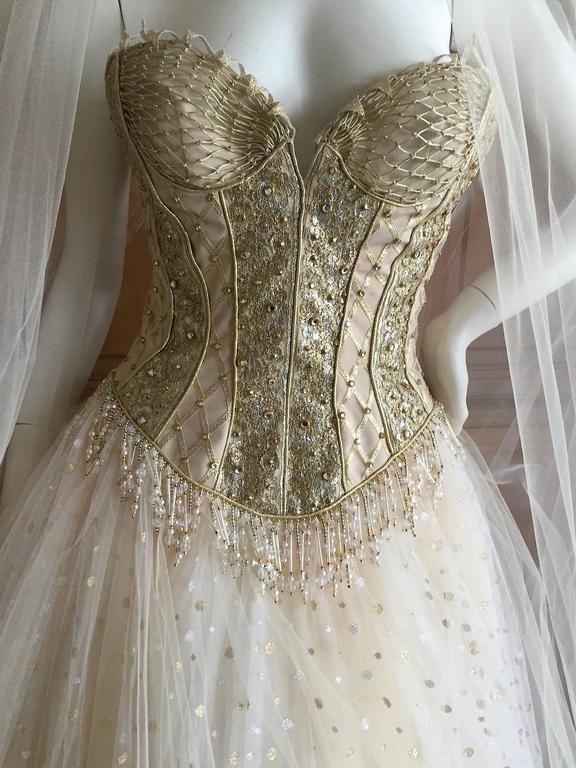 Bob Mackie One of a Kind Ballerina (Wedding) Dress 10