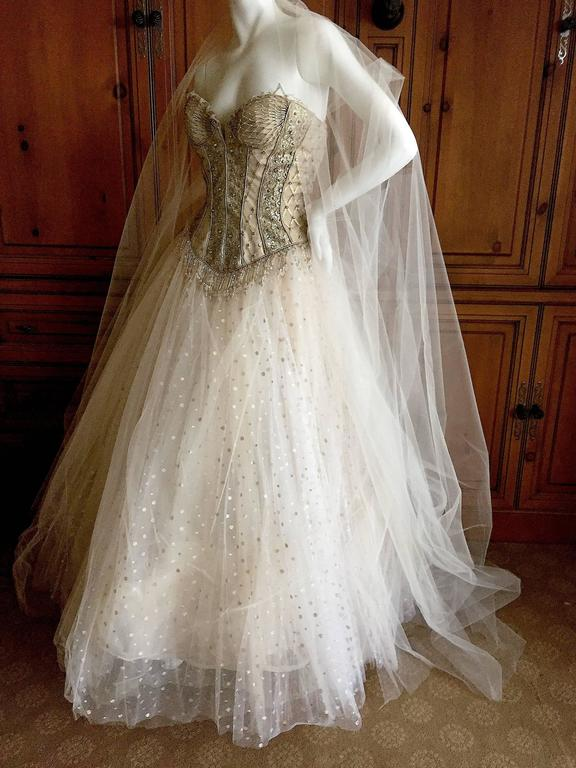 Bob Mackie One of a Kind Ballerina (Wedding) Dress 9