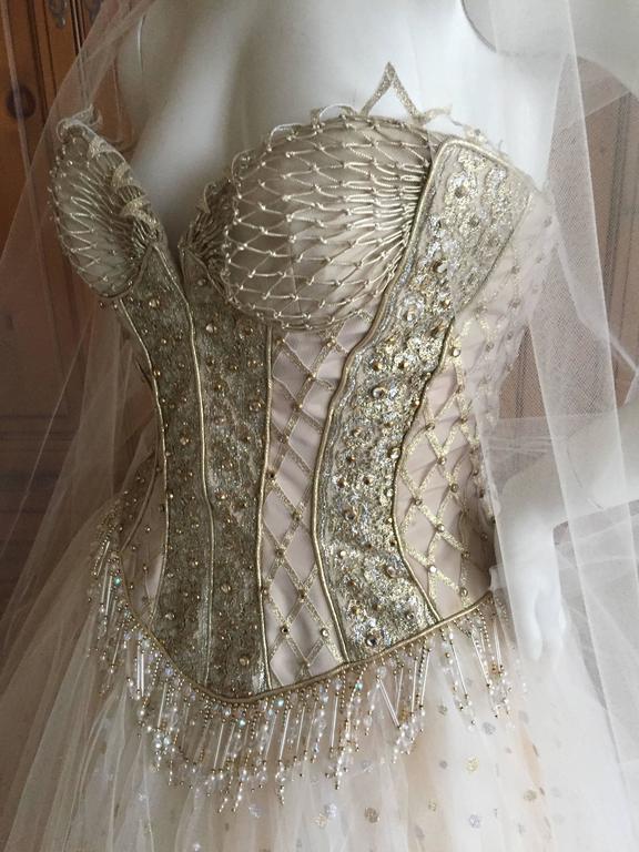 Bob Mackie One of a Kind Ballerina (Wedding) Dress 2