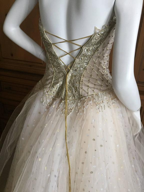 Bob Mackie One of a Kind Ballerina (Wedding) Dress 5