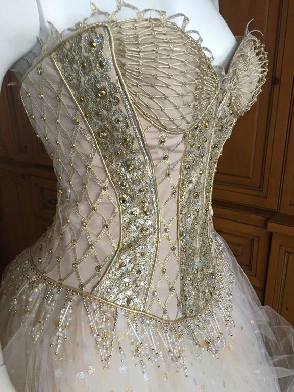 Bob Mackie One of a Kind Ballerina (Wedding) Dress 6