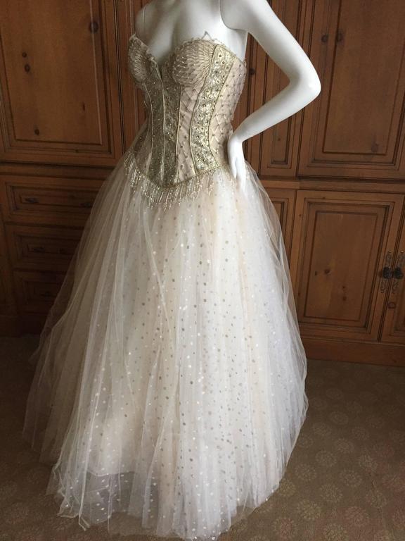 Bob Mackie One of a Kind Ballerina (Wedding) Dress 7