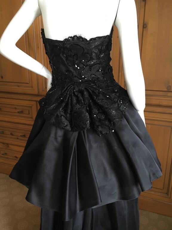 Christian Dior Robes De Soir 1980 S Embellished Black